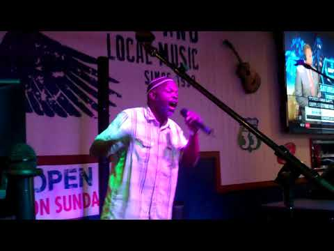 Leo Davis sings Easy at Wild Wing Cafe 8 1 2017