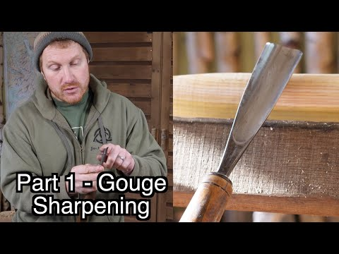 How To Sharpen Chisels - The Gouge