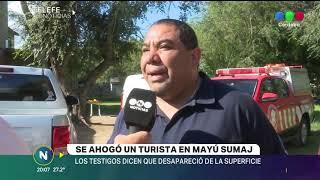 SE AHOGÓ UN TURISTA EN MAYÚ SUMAJ, ERA DE SANTIAGO DEL ESTERO