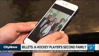 Billet families grieving lost sons