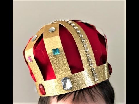 DIY Royal Crown | Craft ideas | Come Sing With Us