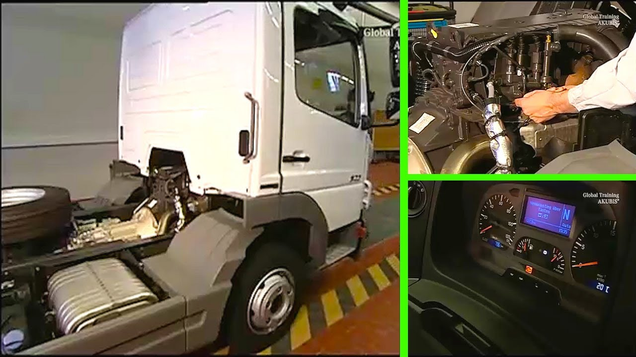 Mercedes Benz | MR vehicle transfer control unit on vehicles with BlueTec