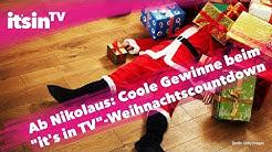 """Ab morgen: Coole Gewinne im """"it's in TV""""-Weihnachtscountdown"""