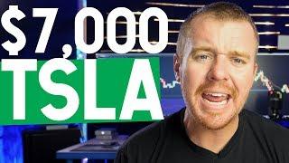 $7,000 TESLA STOCK! $TSLA