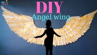 Diy Angel Wing | Easy And Simple Decor