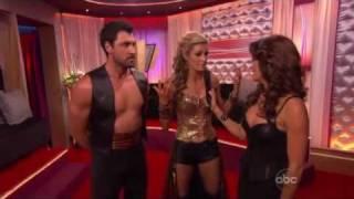 Dancing With The Stars Season 10 Week 9: Erin Andrews & Maksim Chmerkovskiy - Paso Doble