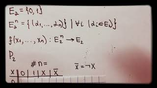 #1.1 Функции алгебры логики