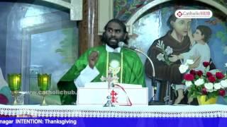 The Way To The Kingdom Of God by Rev.Fr.Jayaraju @St.Anthony's Shrine,Mettuguda, Hyd,TS, 23-08-16