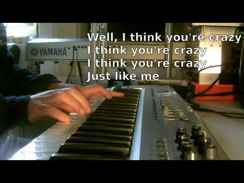 Gnarls Barkley - Crazy KARAOKE PIANO REQUEST