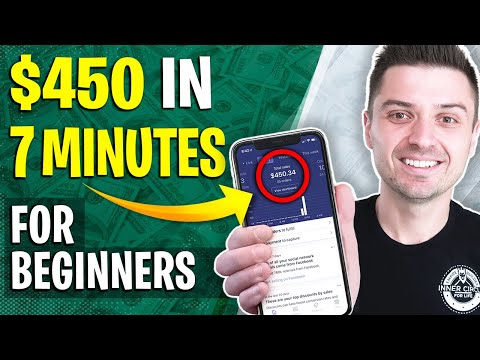 $450 In 7 Minutes | New Influencer Marketing 2019 Strategy For Dropshipping (Beginners MUST Watch) thumbnail