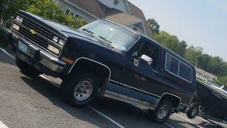 1991 Chevrolet K5 Blazer 4 Speed Manual 4x4 Walkaround and Drive