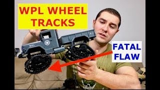 I got Track Wheels for my WPL B-1 Military truck (but there is a major issue)