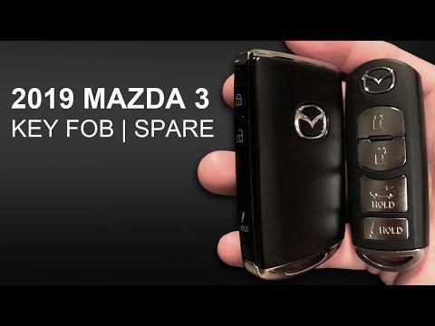 2019 MAZDA 3 - KEY FOB   SPARE