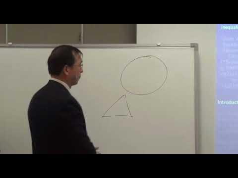 Jiazu Zhou (South west University) / On algebraic integral geometric in equalities. / 2012-11-01