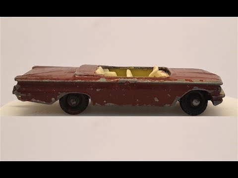 MATCHBOX Restoration No 39b Pontiac Convertible 1960