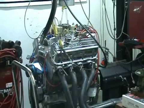 Nasty 505 Big Block Chevy Pump Gas Engine AFR Heads