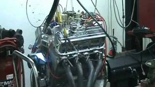 Nasty 505 Big Block Chevy Pump Gas Engine AFR Heads