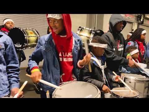 Atlanta Drum Academy Drum Line NBA Half Time Show