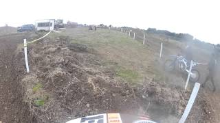 Go Pro Enstone Motocross Race 1 with Banbury Motocross B Group.23 sept 2012 Alan Edwards 14#