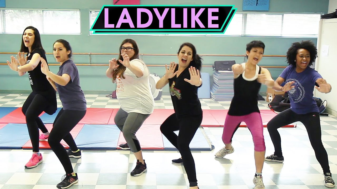 Women Take A Self-Defense Class • Ladylike - YouTube
