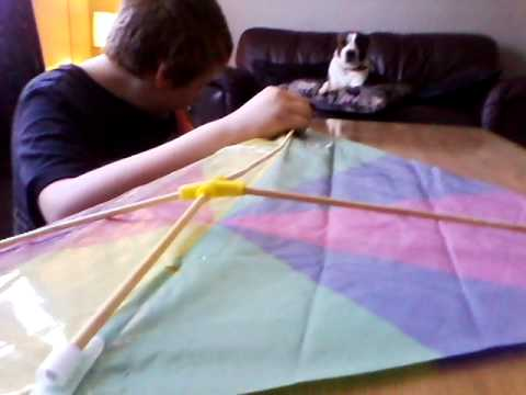 How To Put Together A Kite Pt1 Youtube