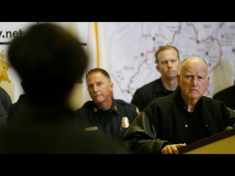 Gov. Jerry Brown, Interior Secretary Ryan Zinke on Camp Fire
