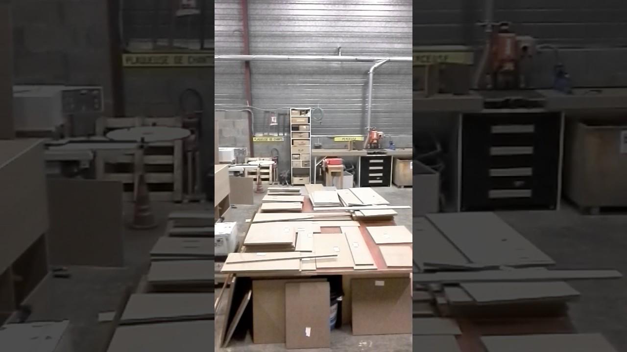 Mon atelier partagé fabrication d\'un meuble en medium - YouTube