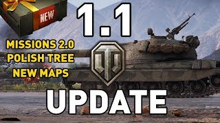 World of Tanks || Update 1.1 Preview