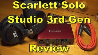 Scarlett Solo Studio 3rd Gen Review