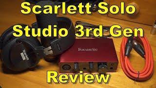 Scarlett Solo Studio 3rd Gen Review