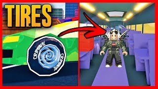*MANY CHANGES* NEW JAILBREAK UPDATE - Roblox TIRES!
