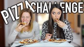 PIZZA CHALLENGE || ft. Chiara Facchetti