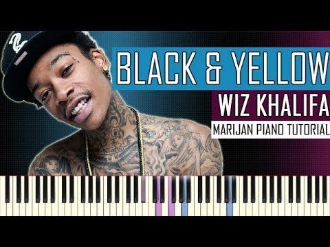 How To Play: Wiz Khalifa - Black And Yellow | Piano Tutorial