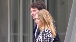 Natalia Vodianova & Antoine Arnault @ Paris Fondation Vuitton 20 Octobre 2014