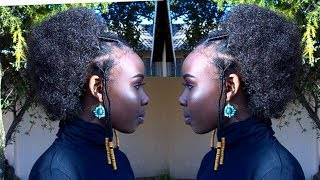 HOW TO MAKE AN AFRO WIG YOLANDAADM