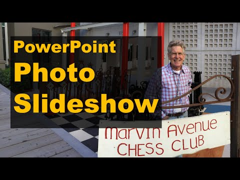 PowerPoint photo slideshow in under 1 minute + advanced tips