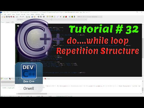 Tutorial#32 - do...while Looping Repetition Structure | C++ Programming by Coding Hub thumbnail