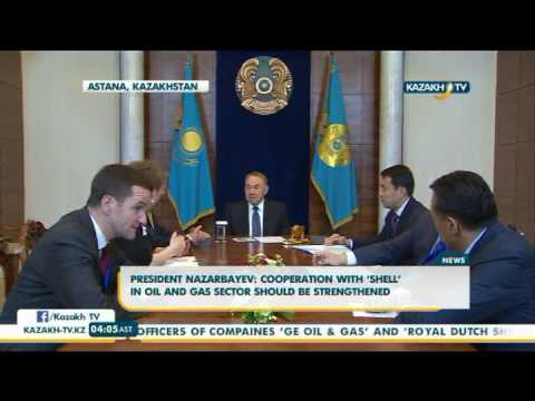 Kazakh President holds meeting with Director of GE Oil and Gas