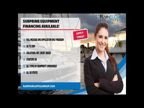 Subprime Equipment Financing 2
