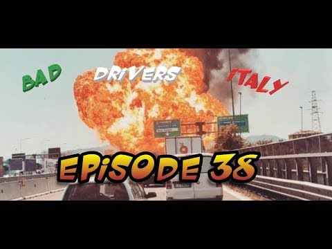 Bad Drivers on Italy Streets + Car Crash // DashCam Episode 38