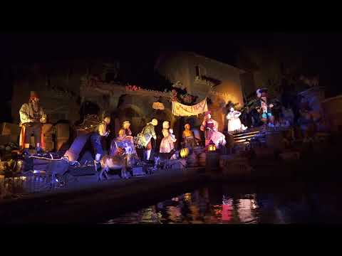 New auction scene at Pirates of the Caribbean