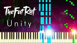 UNITY by TheFatRat - Piano Tutorial