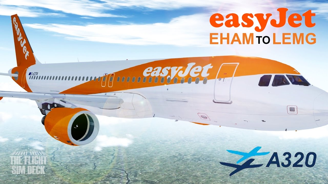 Prepar3D   Early Departure EHAM to LEMG   FSLabs A320