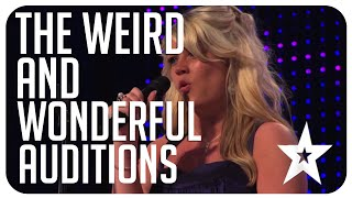 7 weird & wonderful auditions on Got Talent from around the world