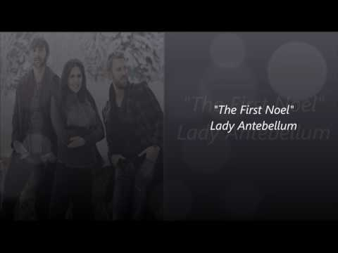 The First Noel karaoke(originally performed by lady antebellum)