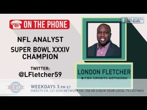 Gottlieb: London Fletcher talks Gronk, Jeff Fisher, and Kirk Cousins