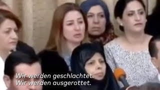Grauenhafte Berichte: IS zwang gefangene Jesidin ihren eigenen Sohn zu essen