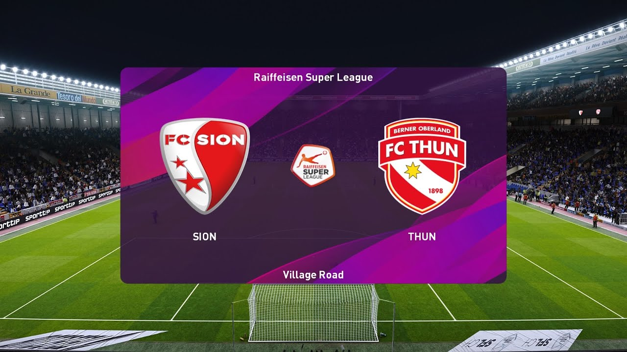 Download PES 2020 | Sion vs Thun - Raiffeisen Super League | 25/07/2020 | 1080p 60FPS