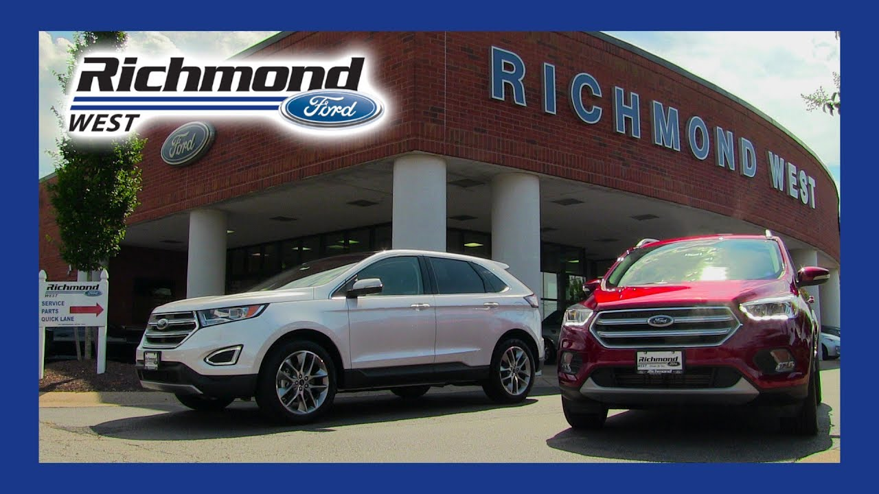 Ford Edge Vs Escape >> Ford Escape Vs Ford Edge Glen Allen Va Richmond Ford West