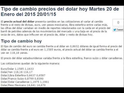 tipo-de-cambio-precios-del-dolar-hoy-martes-20-de-enero-2015-20/01/15